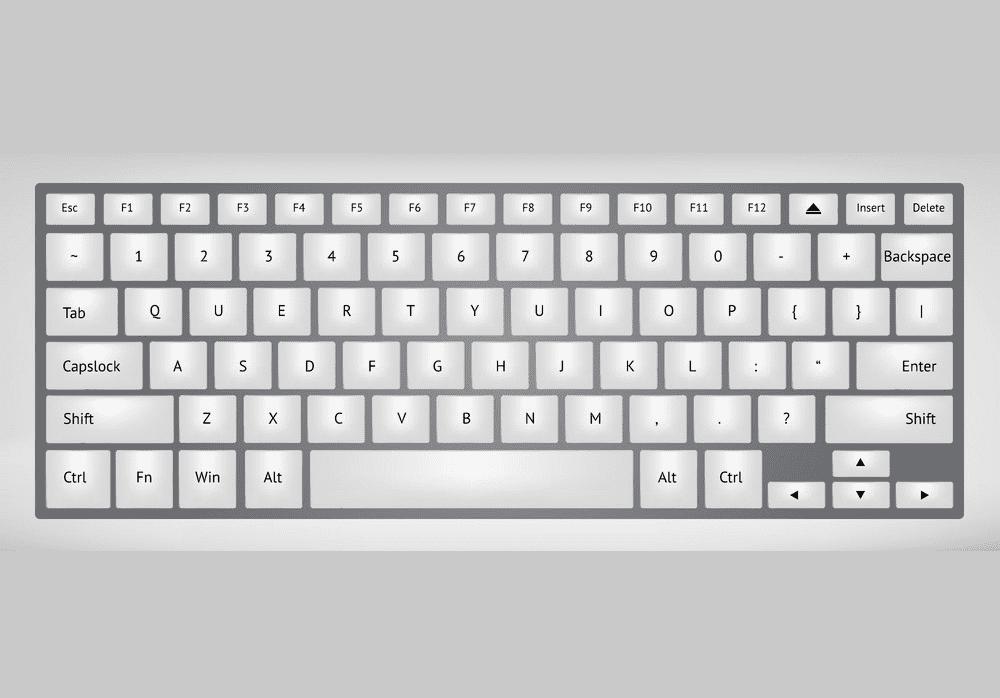 Free Keyboard clipart