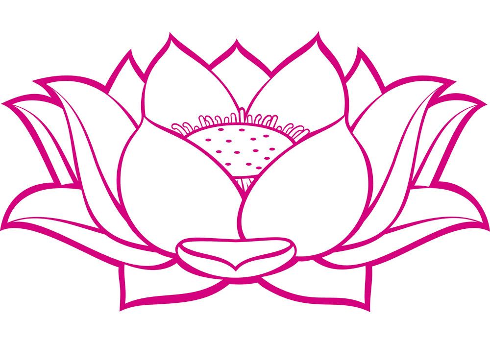 Free Lotus clipart image