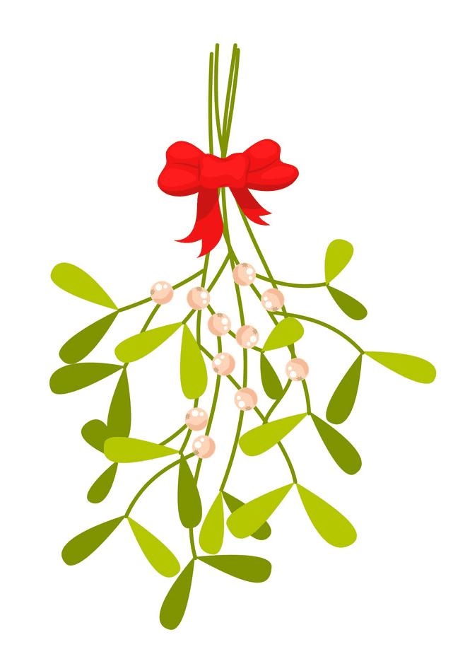 Free Mistletoe clipart images