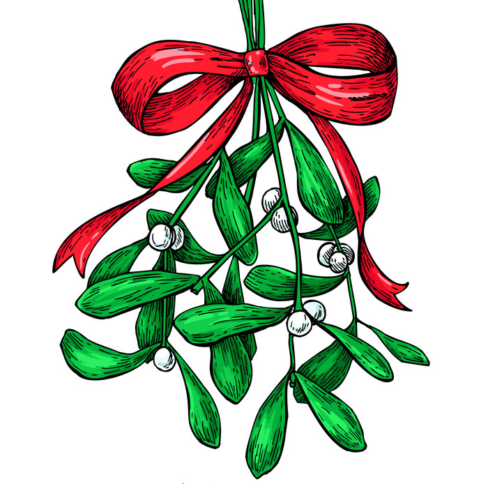 Free Mistletoe clipart