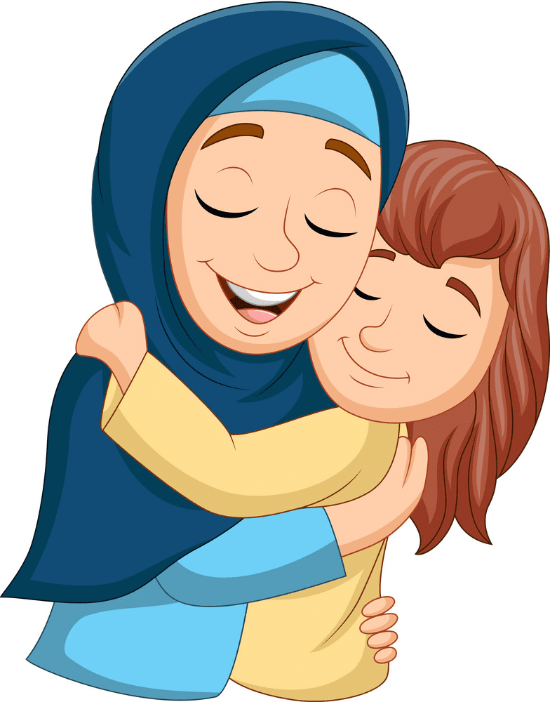 Free Mom and Daughter clipart images