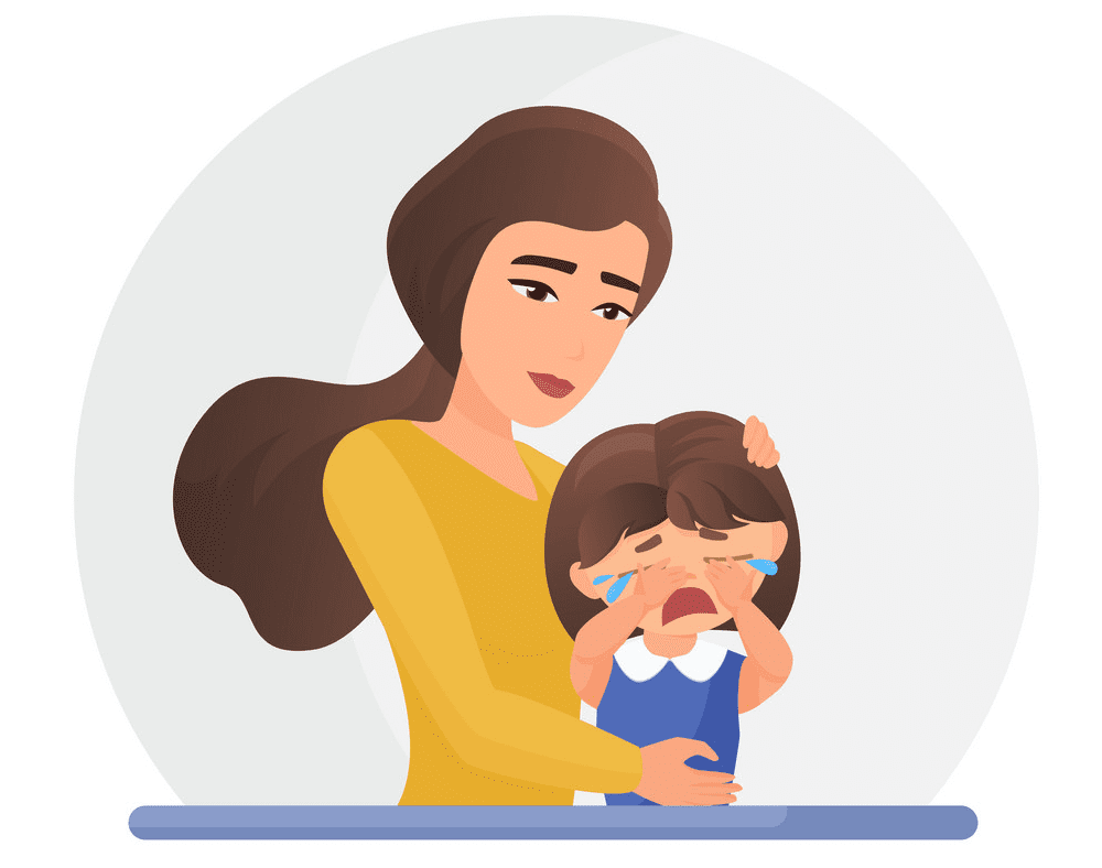 Free Mom and Daughter clipart