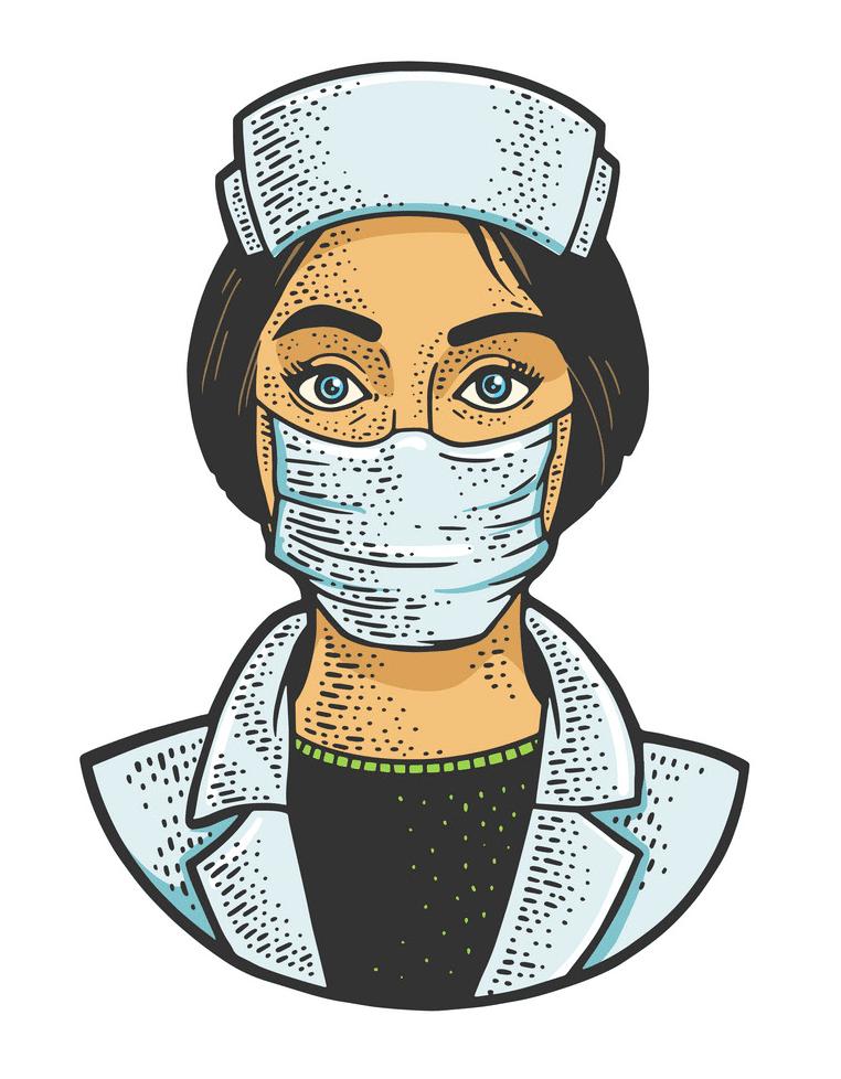 Free Nurse clipart 4