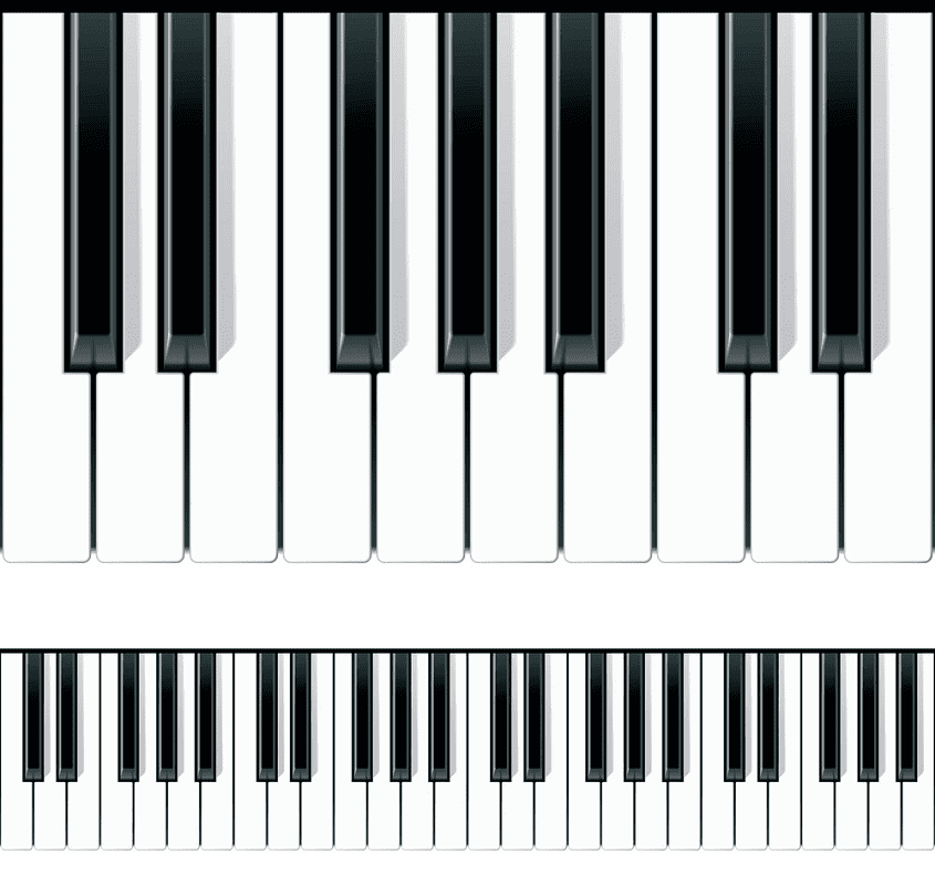 Free Piano Keyboard clipart images