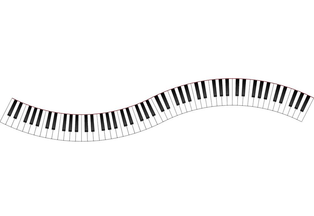 Free Piano Keyboard clipart png image