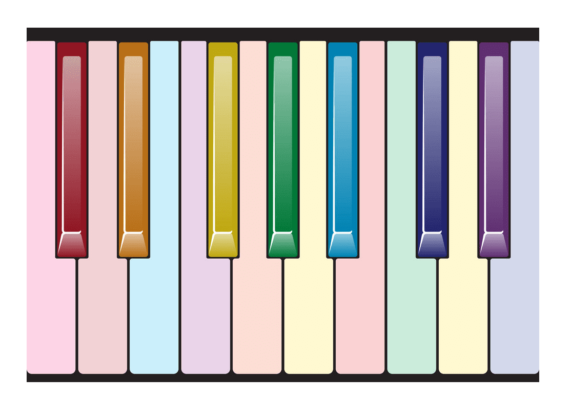 Free Piano Keyboard clipart
