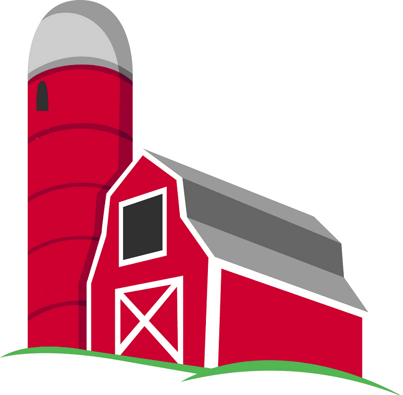 Free Red Barn clipart png