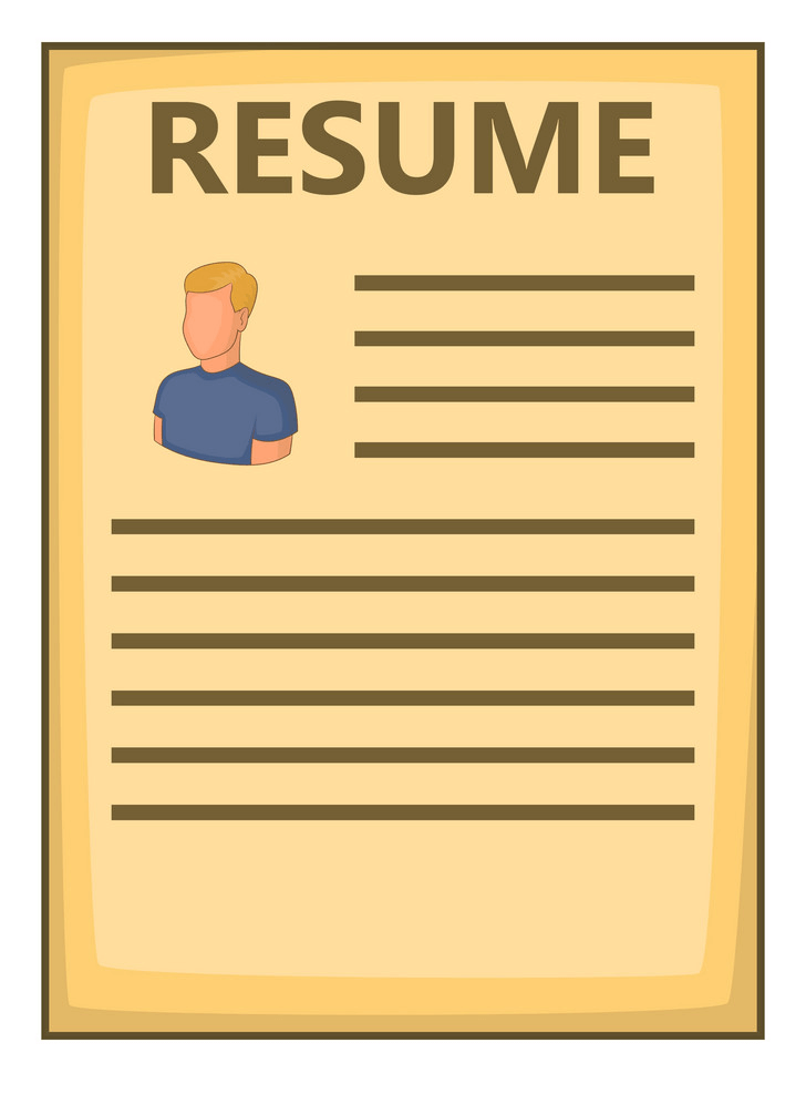 Free Resume clipart image