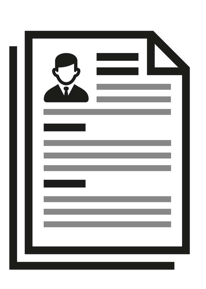 Free Resume clipart png image