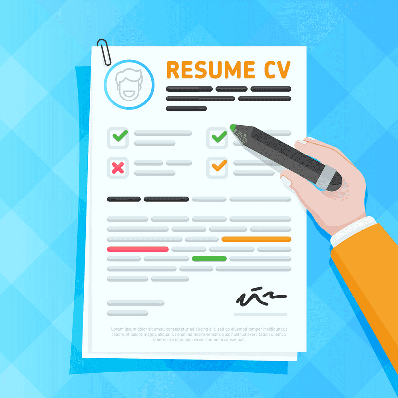 Free Resume clipart png
