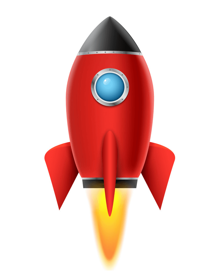Free Rocket Ship clipart images