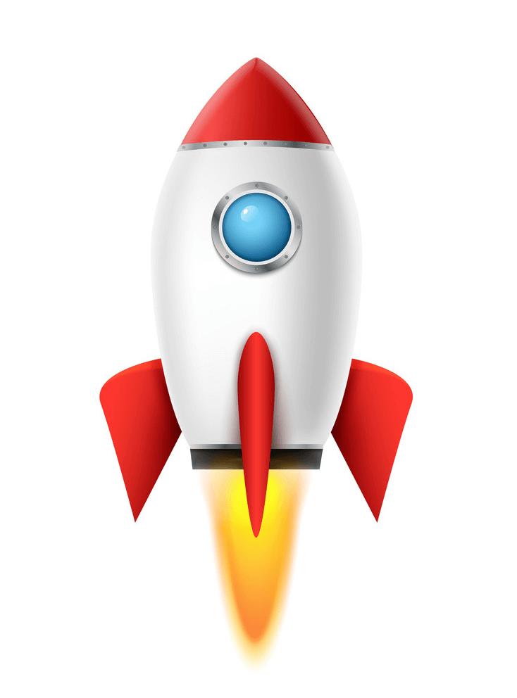 Free Rocket Ship clipart png image
