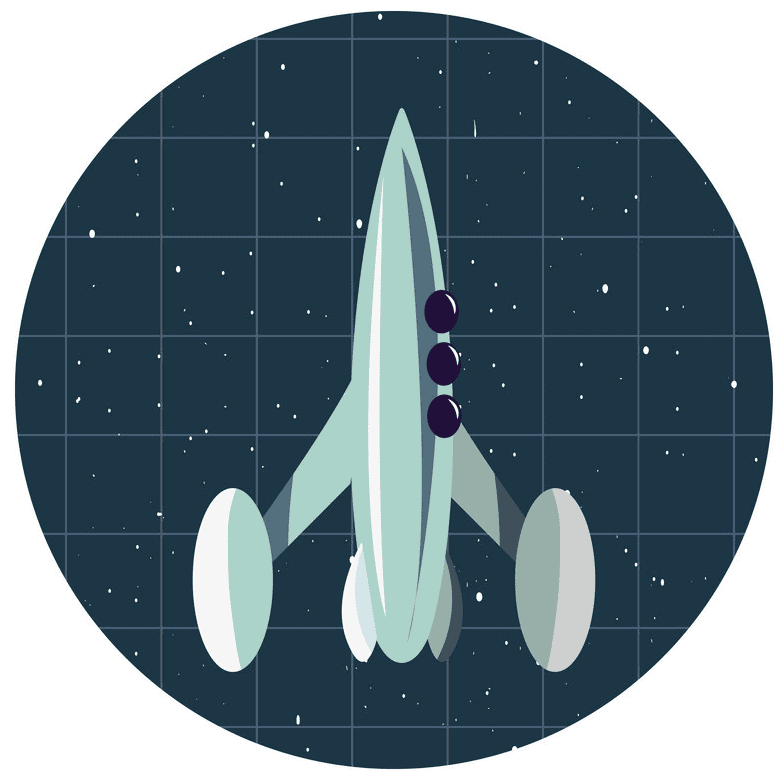 Free Rocket Ship clipart png images