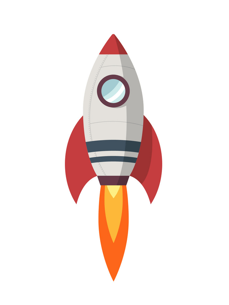 Free Rocket Ship clipart