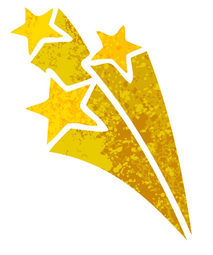 Free Shooting Star clipart png images