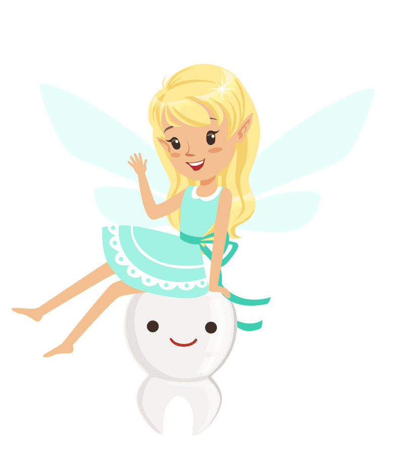 Free Tooth Fairy clipart image