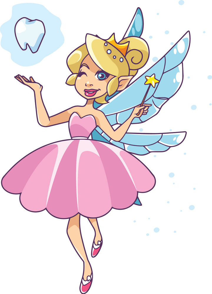 Free Tooth Fairy clipart png image