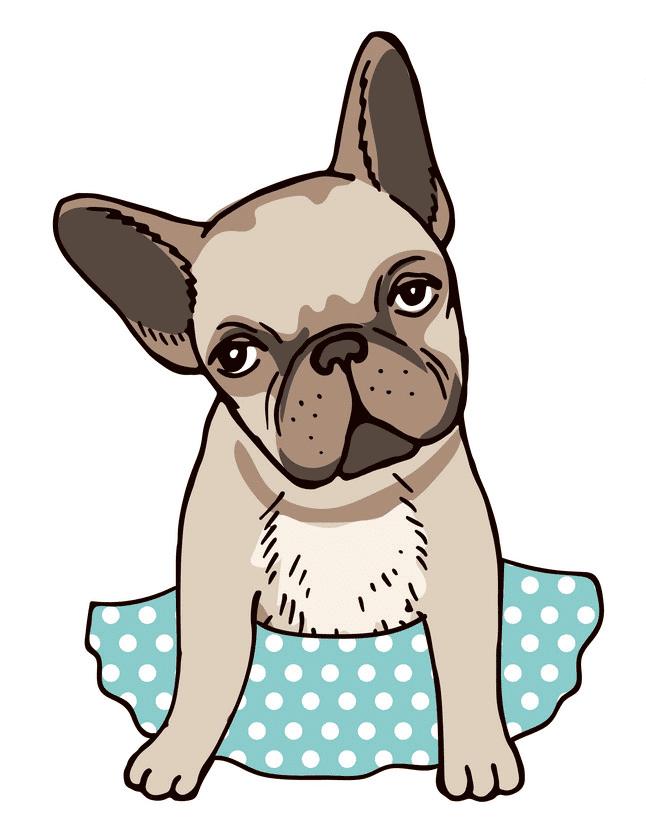 French Bulldog clip art free download