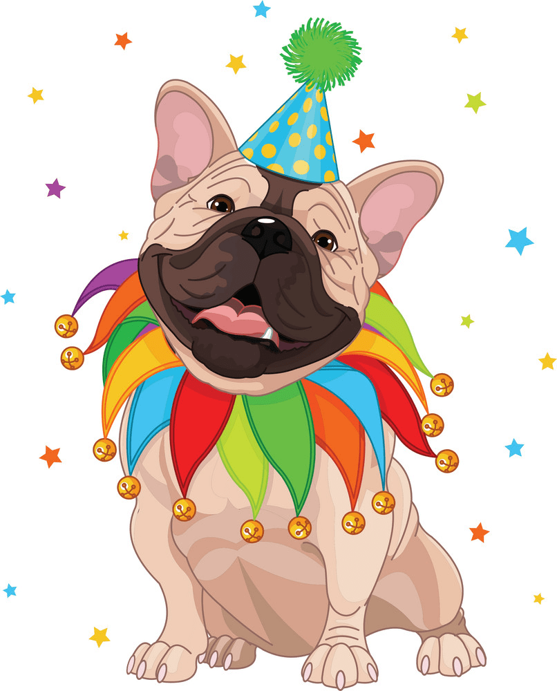 French Bulldog clipart picture