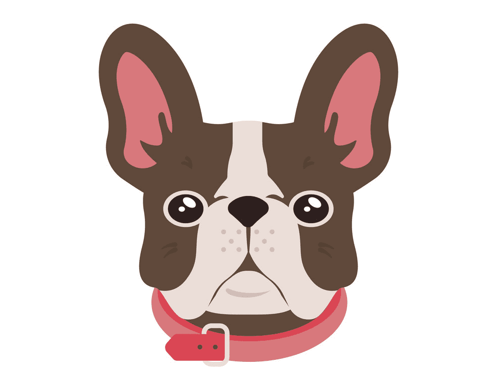 French Bulldog clipart png images