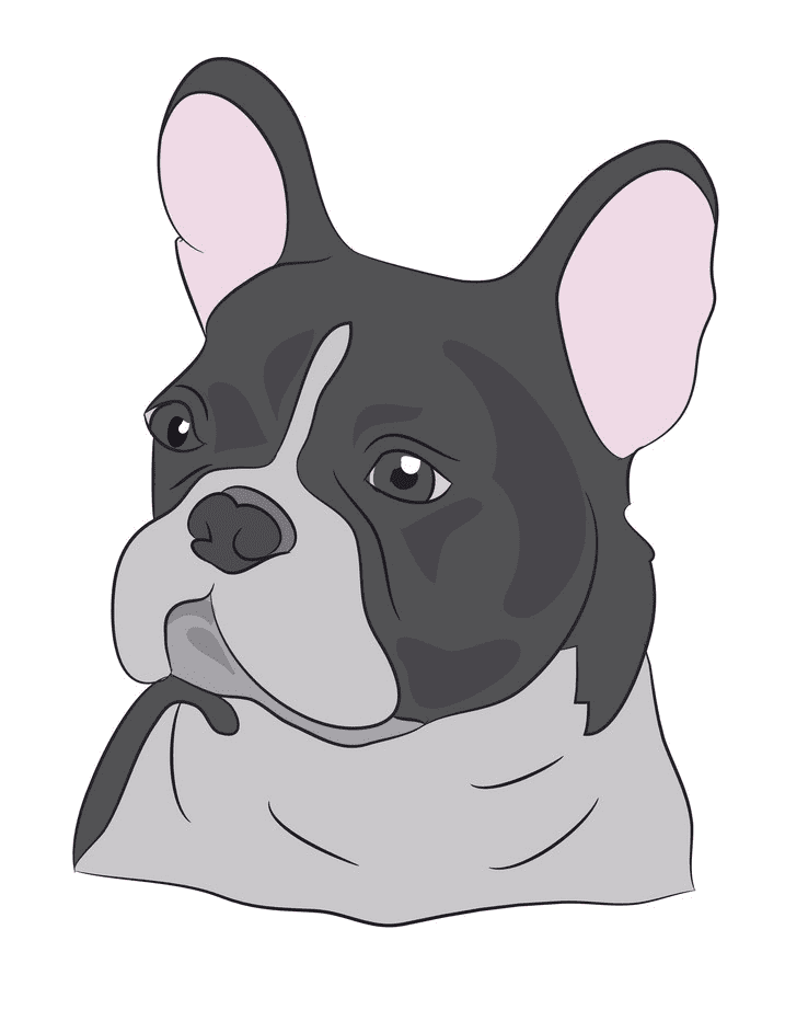 French Bulldog clipart to download