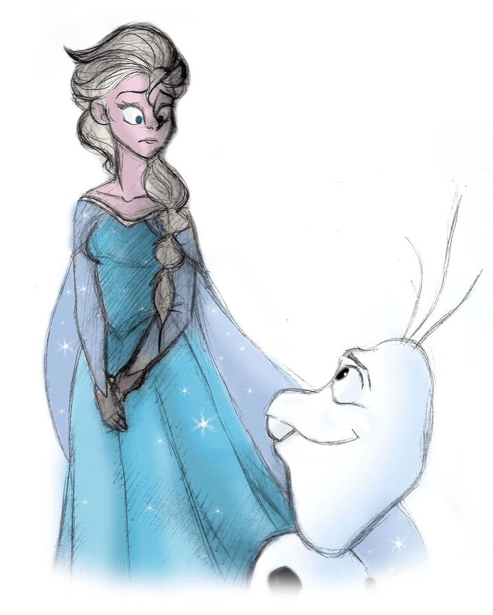 Frozen Elsa clipart 6