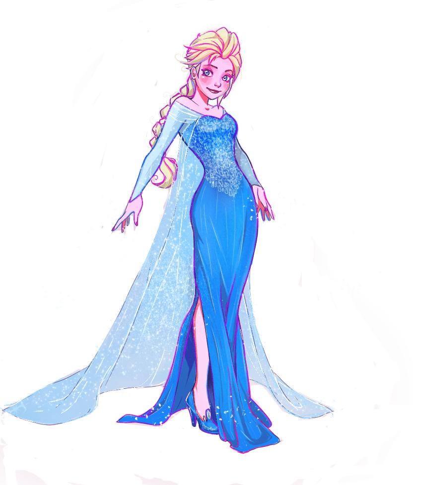 Frozen Elsa clipart free image