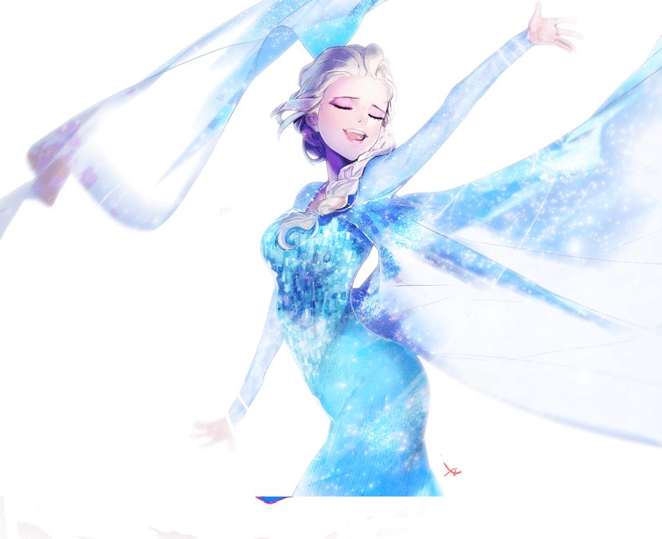 Frozen Elsa clipart free images