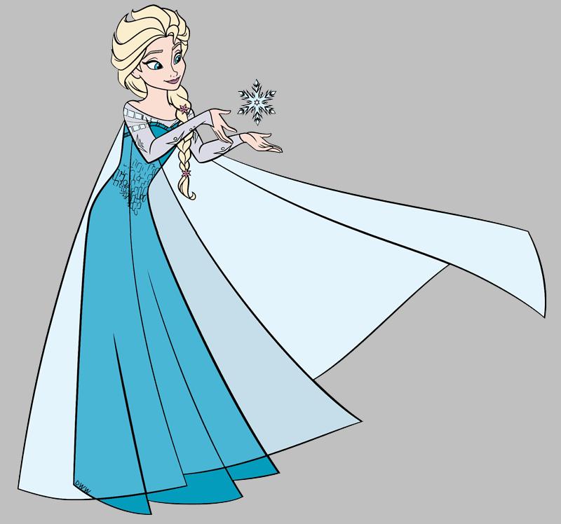 Frozen Elsa clipart image