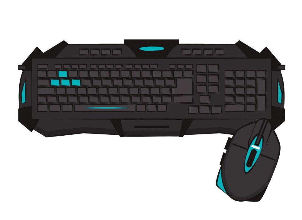 Gaming Keyboard clipart