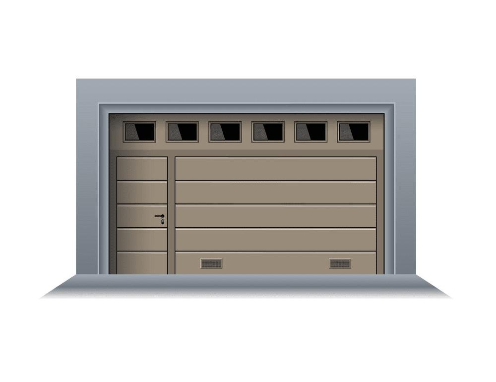 Garage Door clipart for free