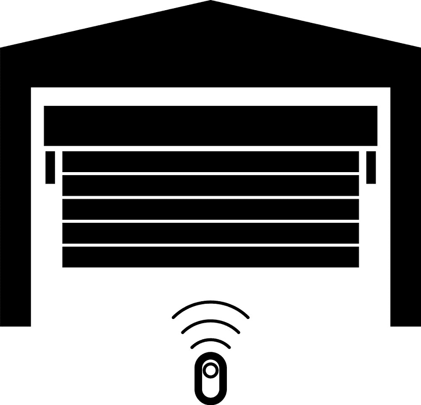 Garage Door clipart free