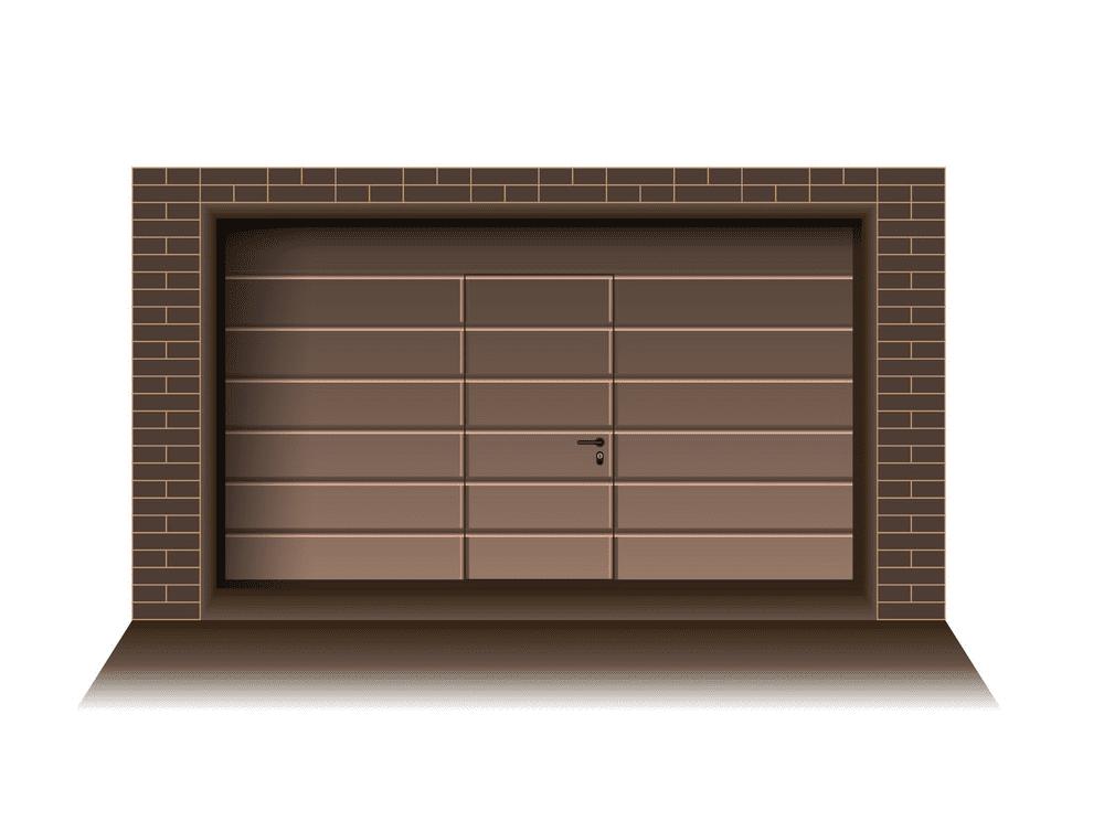 Garage Door clipart