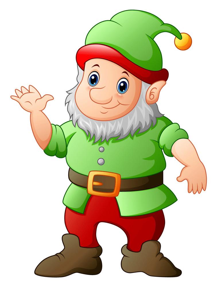 Garden Gnome clipart 2