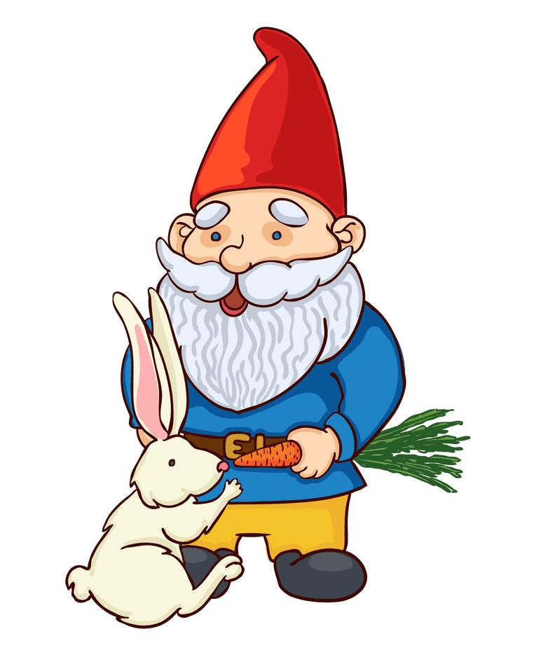 Garden Gnome clipart 3