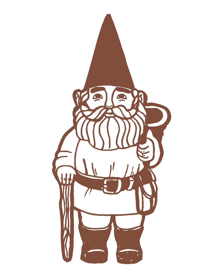 Garden Gnome clipart 6
