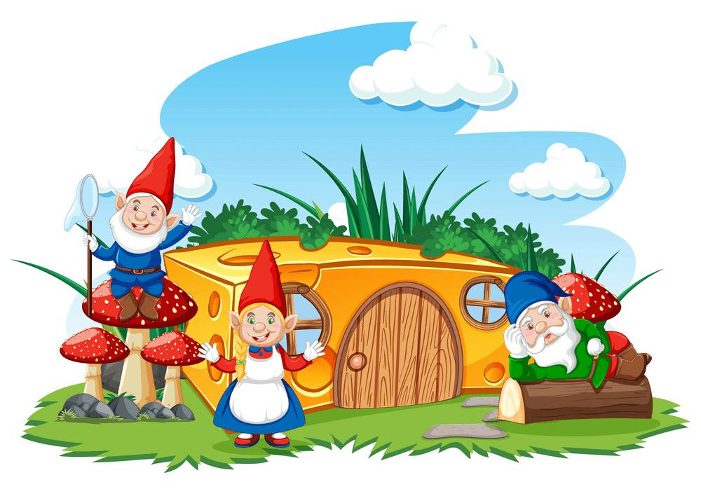 Garden Gnome clipart 8