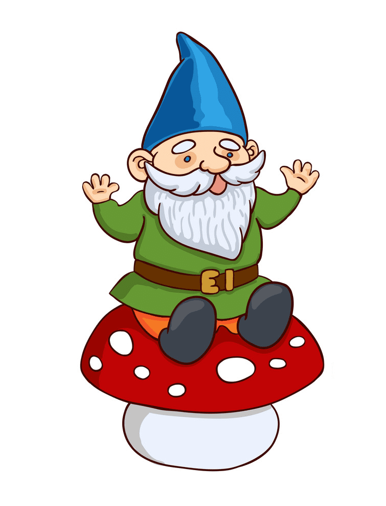 Garden Gnome clipart free images