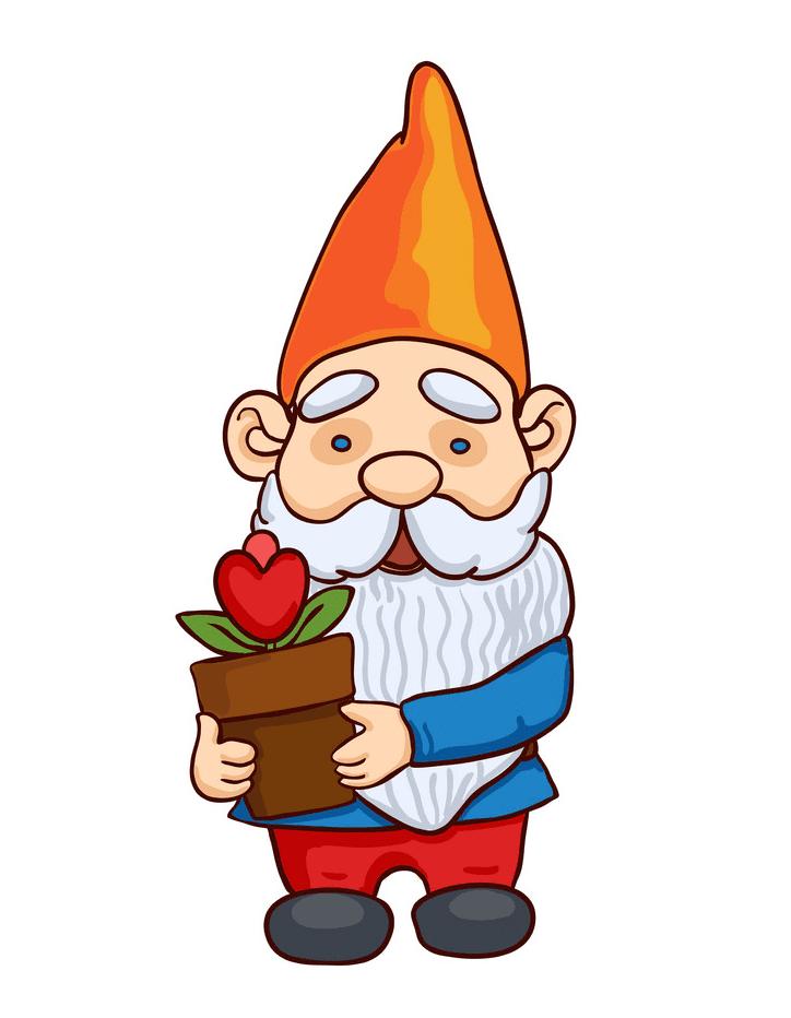 Garden Gnome clipart free