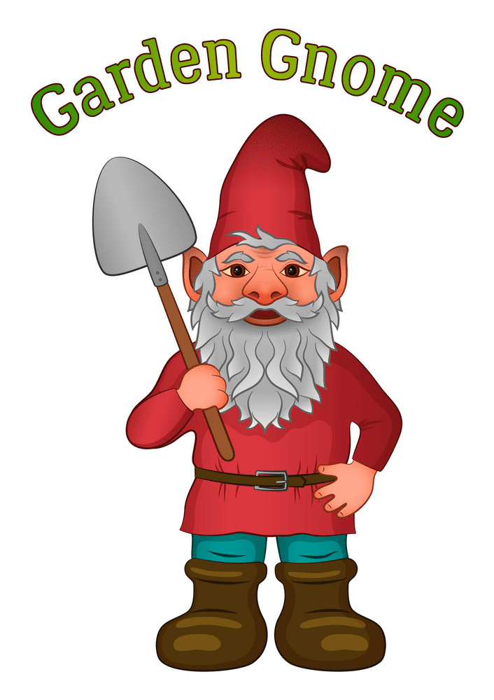 Garden Gnome clipart image