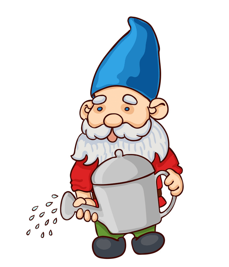 Garden Gnome clipart png image