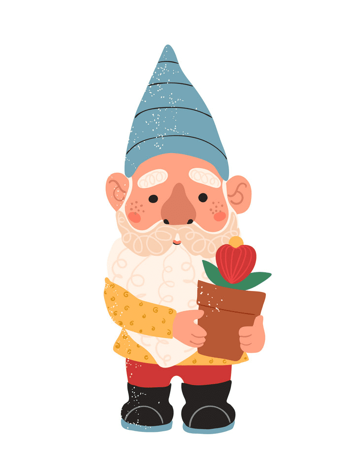 Garden Gnome clipart png images