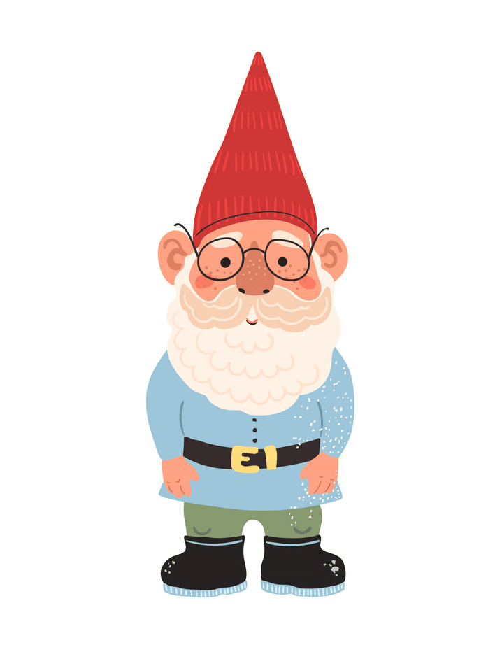 Garden Gnome clipart png