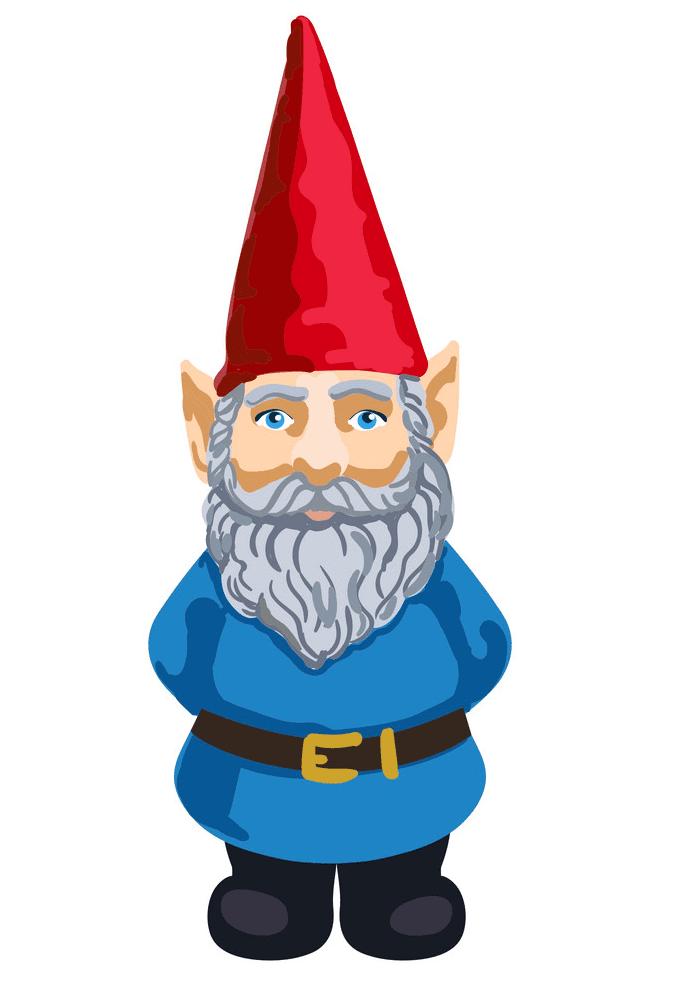 Garden Gnome clipart
