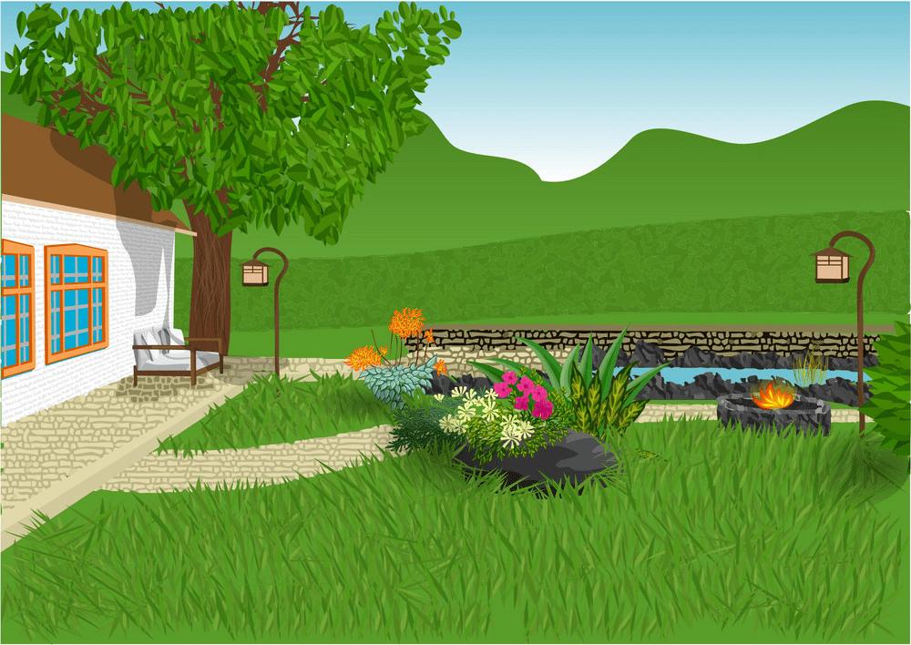 Garden clipart 2