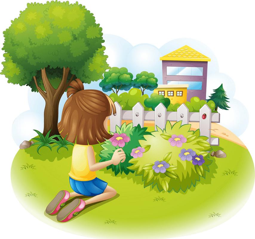 Garden clipart image