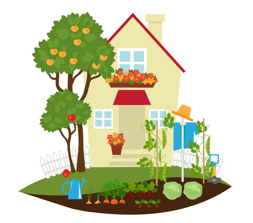 Garden clipart png free