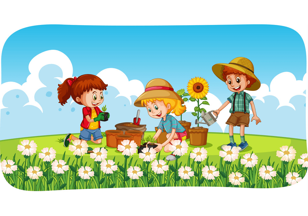 Garden clipart png image