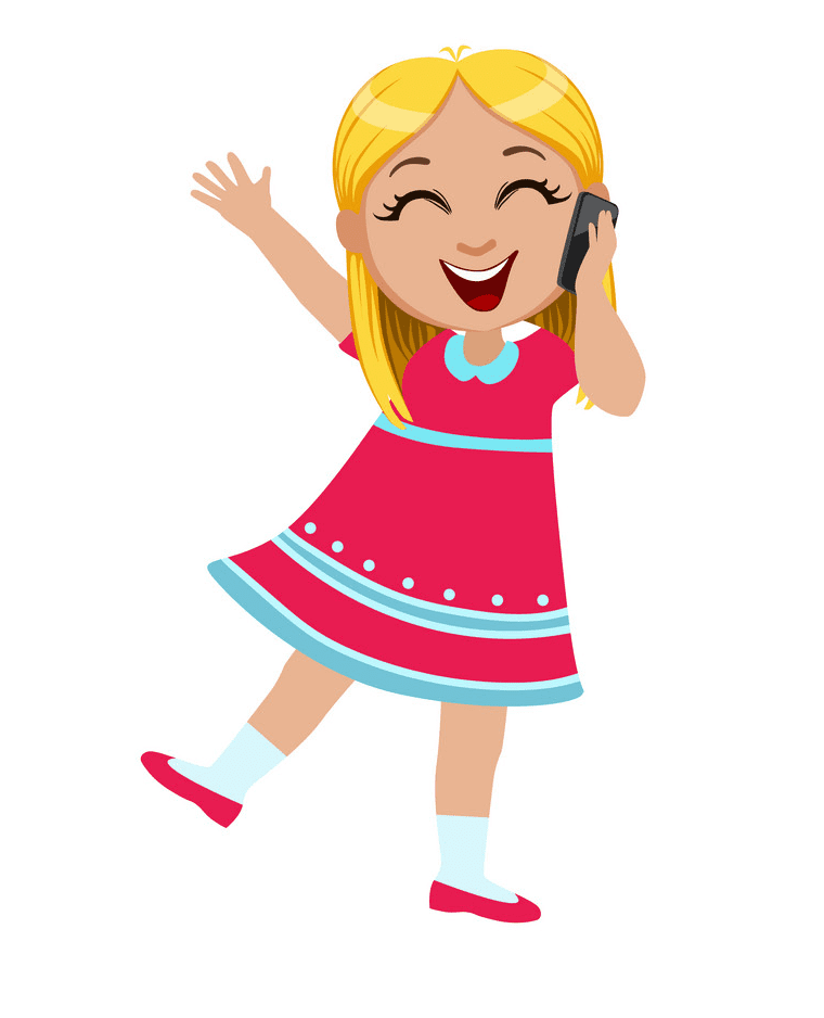 Girl Laughing clipart free image