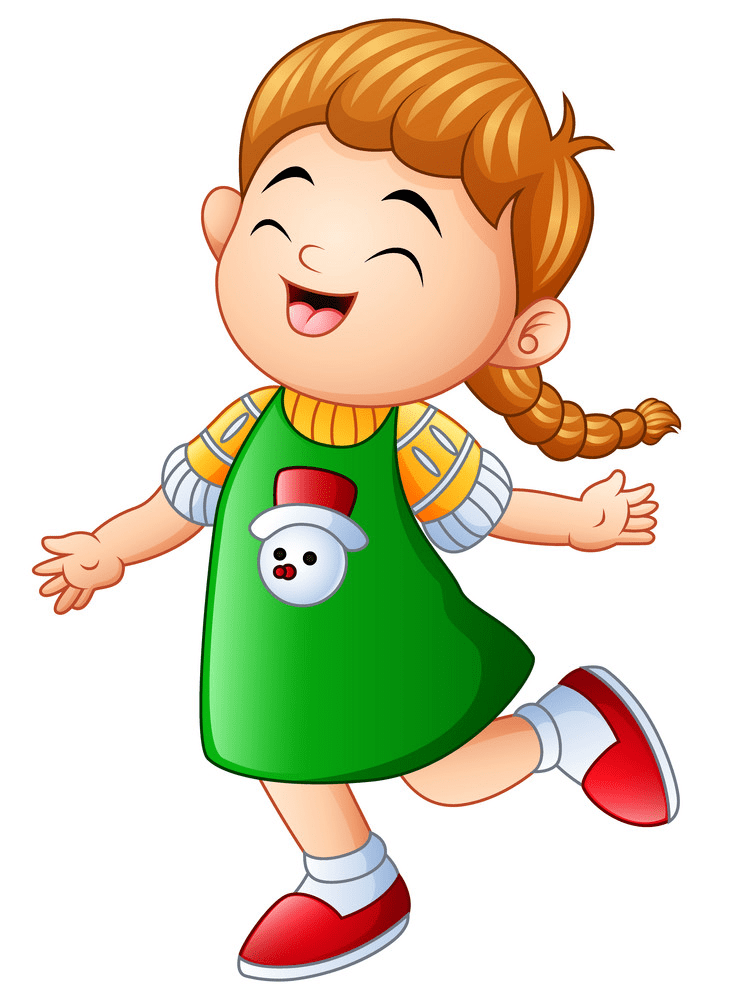 Girl Laughing clipart image